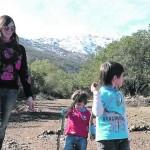 Trekking para grandes y chicos