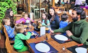 Los mejores lugares para ir a comer en familia