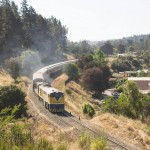 En tren a la costa