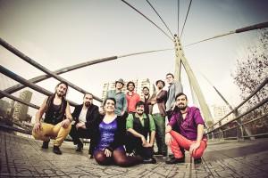 Un festival al aire libre con las bandas del futuro