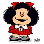 Celebra el cumpleaños de Mafalda con sus tiras