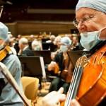 Una orquesta de medicos-musicos