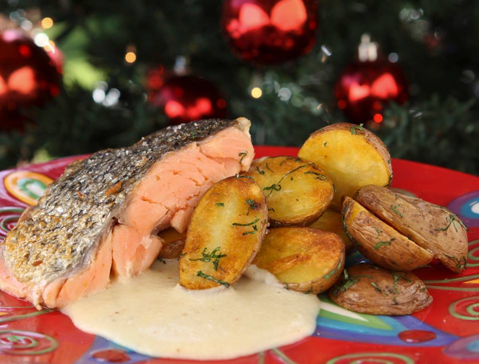 Menú salmón Quinto Cielo