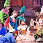 Ballet navideño al aire libre en Lo Barnechea
