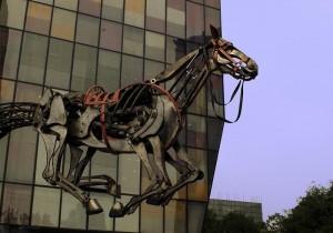 Santiago a Mil a caballo