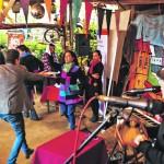 Baile al ritmo de las quintas porteñas en la Plaza Sotomayor