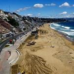 Zumba gratis en la arena de Reñaca