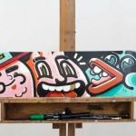 Sábado: Street art sobre ruedas