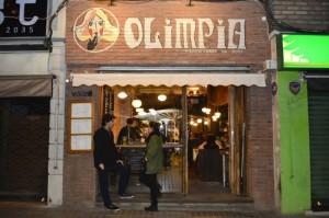Olimpia: Una pizzería con onda