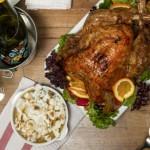 Un banquete de Acción de Gracias en The White Rabbit