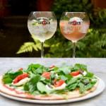 Martini y pizzas en Providencia