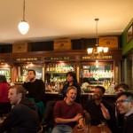 Un pub con estilo irlandés