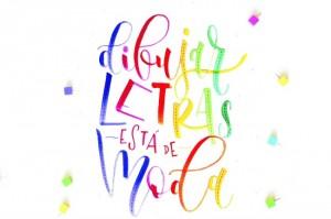 Dibujar letras está de moda