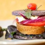 Cena en el nuevo vegetariano de Lastarria