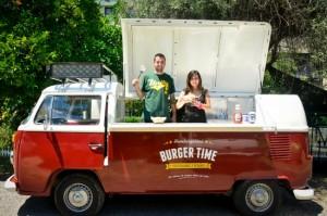 Food trucks en el parque