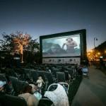 Cine gratis y al aire libre
