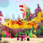 The Beatles de LEGO llegan a Chile