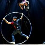 Circo moderno en Las Condes