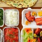3 menús de la India para el almuerzo