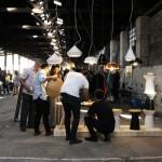 Feria de diseño en una ex fábrica