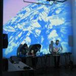 Feria de arte sonoro en una casona