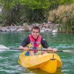 Veranear en un lago santiaguino
