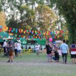 Una fiesta cervecera en el Parque Padre Hurtado