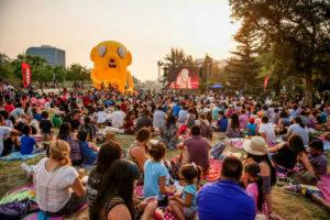 Gratis: Un picnic con los dibujos de Cartoon Network en Providencia