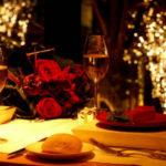 Una cena para enamorados en el Hotel Intercontinental