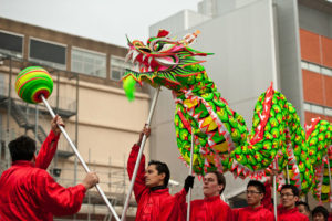 Celebrar el Año Nuevo Chino en Parque O´Higgins
