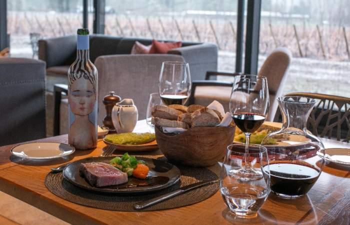 Viña Vik: Almorzar en el hotel más lujoso de Chile