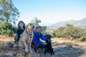 Salir de trekking al cerro Manquehuito con perros