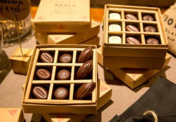 Óbolo chocolatería barrio italia