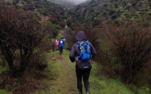 Corrida entre cerros en la VI región