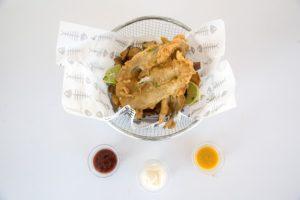 Hook's Fish & Chips, cocina callejera al modo inglés