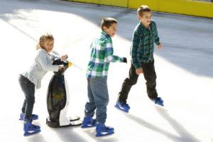 La nueva pista de patinaje en hielo de Puerto Varas