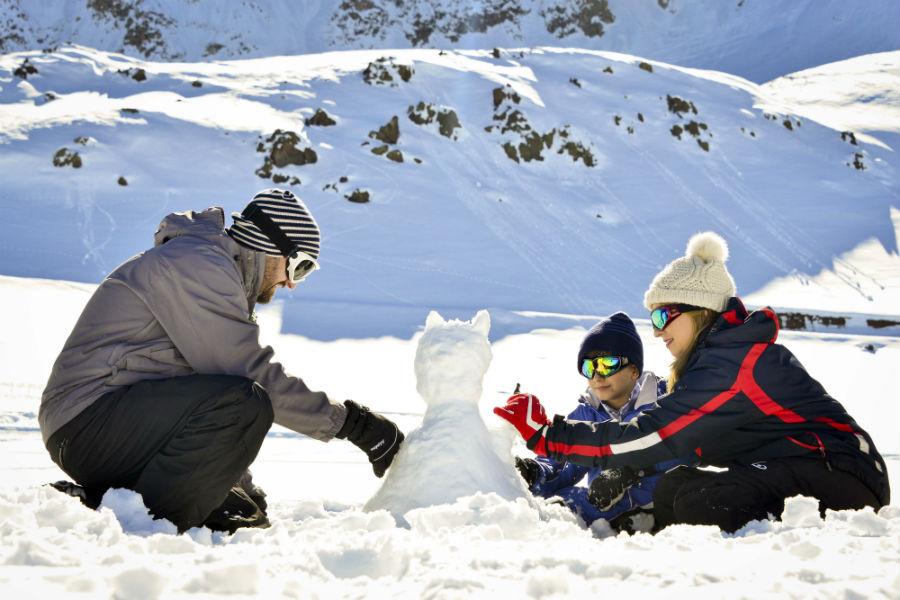 Centro de esquí Parque Farellones
