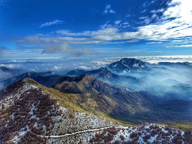 Trekking en Chile: cerro El Roble