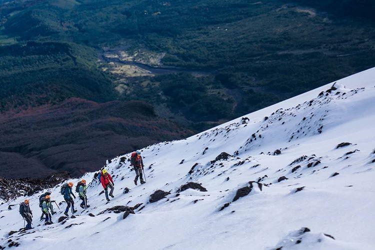 Trekking en Chile: volcán Villarrica