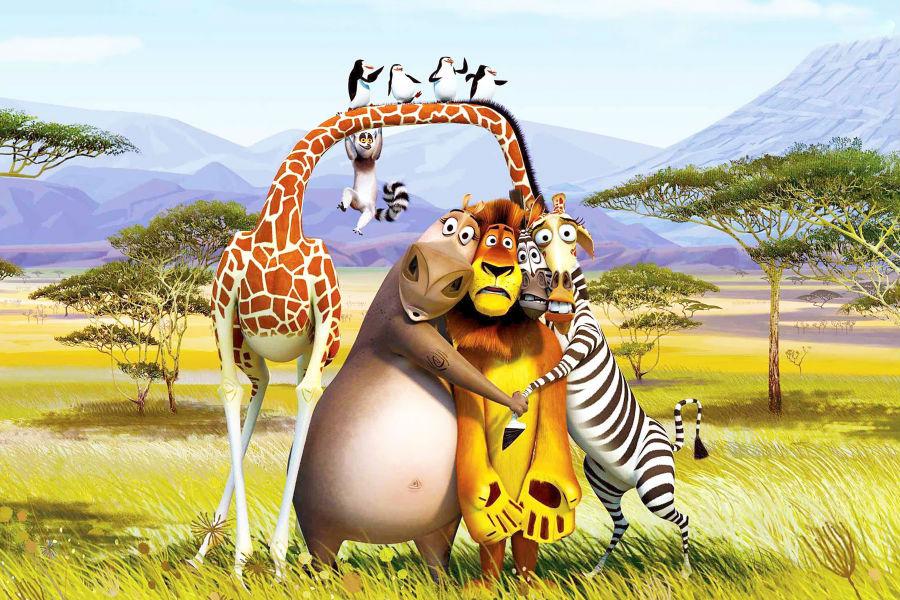 Película Madagascar 3