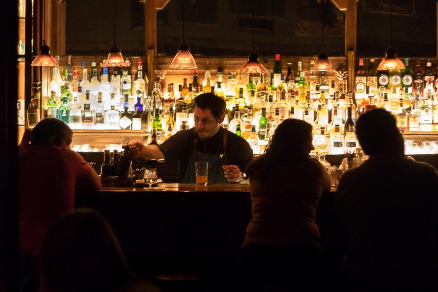 Nicky Harrison Speakeasy bar Buenos Aires