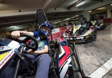 Karting en Mall Sport
