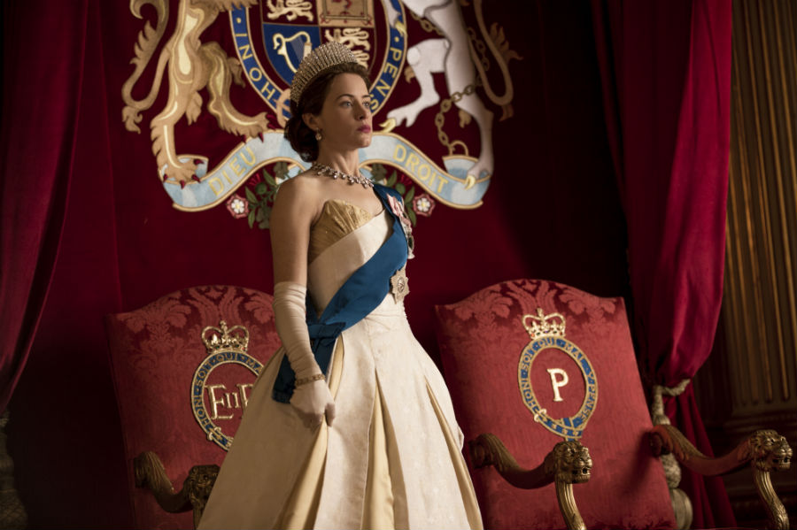 The Crown series de Netflix