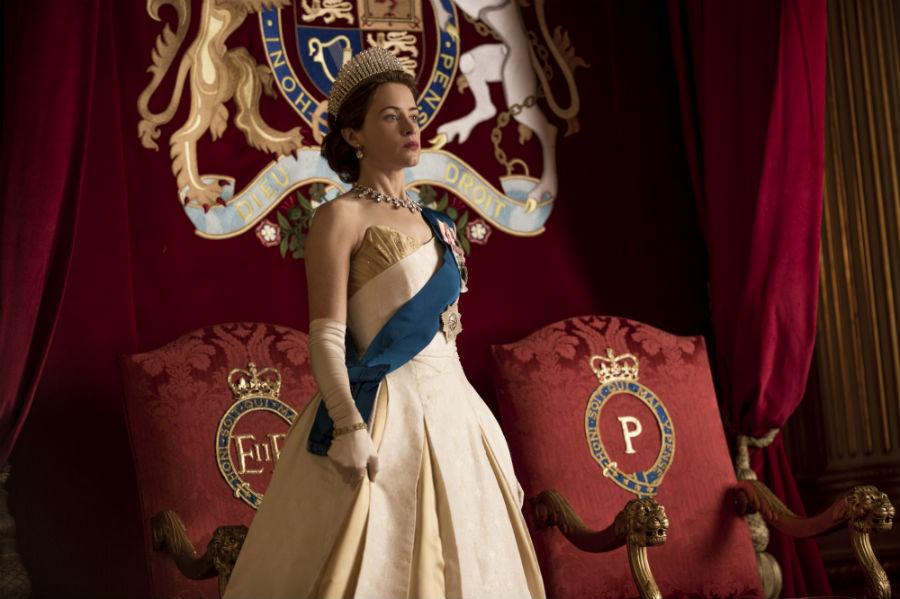 The Crown series de Netflix