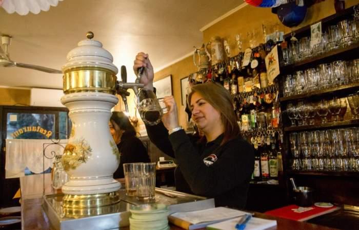 Bierstube, uno de los bares cerveceros más antiguos de Santiago