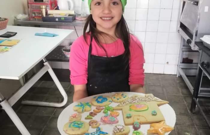 Chocolate y Merkén: talleres de repostería para niños en Lo Cañas