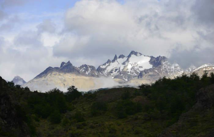 El increíble cerro patagónico con forma de castillo