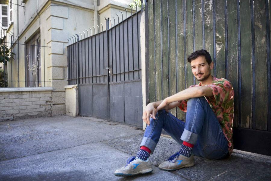 Diego Lorenzini presenta en vivo su cueca del terremoto