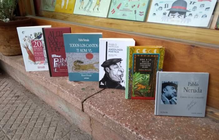 Recordando a Neruda a través de sus libros