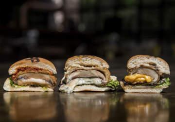 hamburguesas vegetarianas en santiago